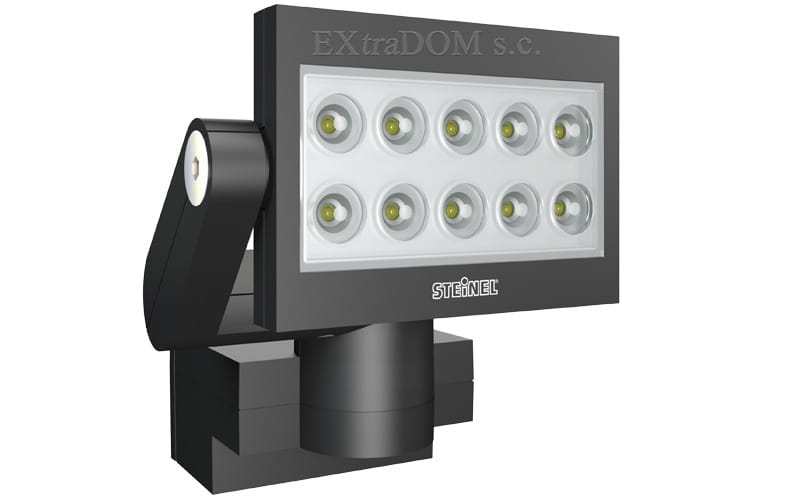 reflektor diodowy xled 10 slave 25w steinel wiat. Black Bedroom Furniture Sets. Home Design Ideas