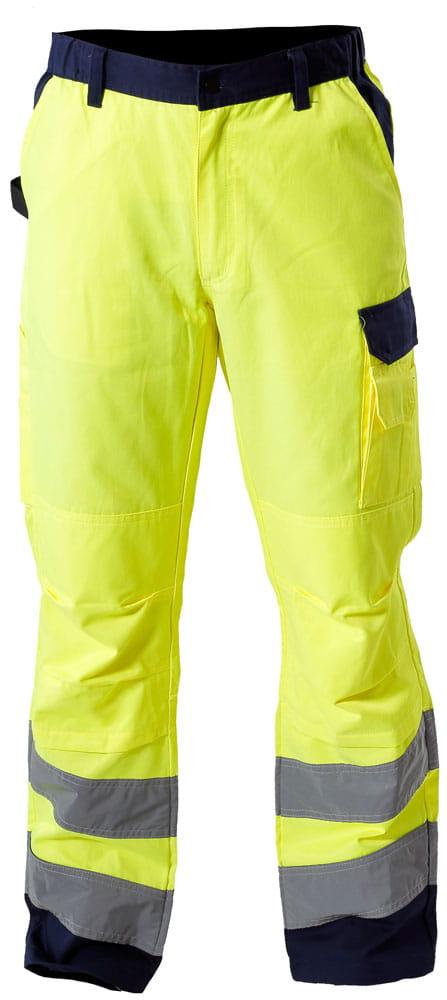 01f9f9f3c9a079 Spodnie ostrzegawcze robocze PREMIUM Lahti Pro rozmiar M, L4100602 ...