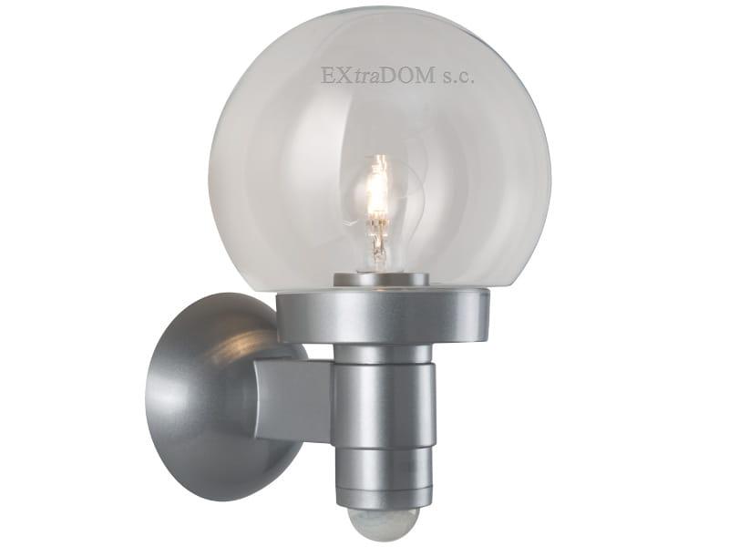 Klasyczna Lampa Z Czujnikiem Ruchu Steinel L 115 Srebrna